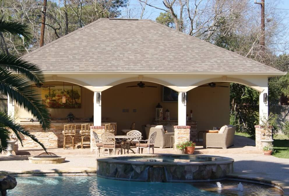 North Houston Pool Cabana