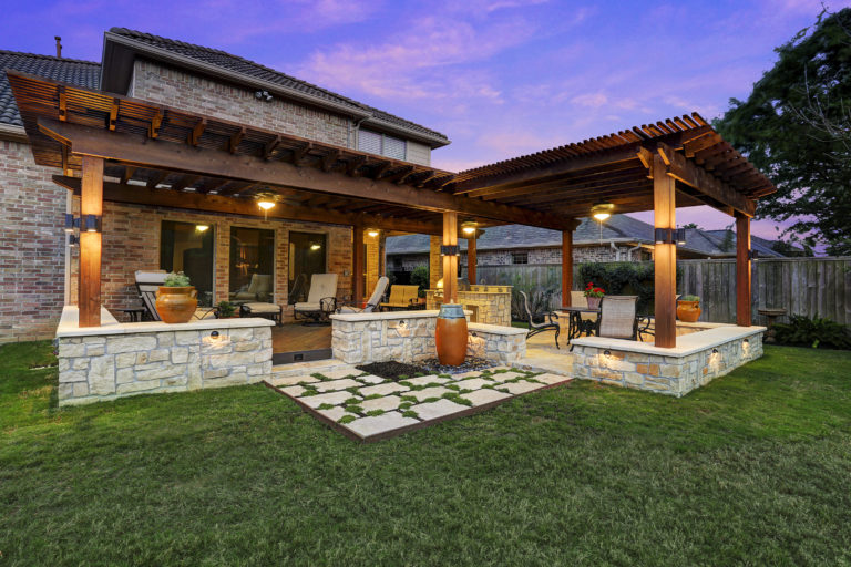 Patio Covers Houston Dallas Pergolas Patio Design Katy - Texas Custom Patios - Outdoor Living