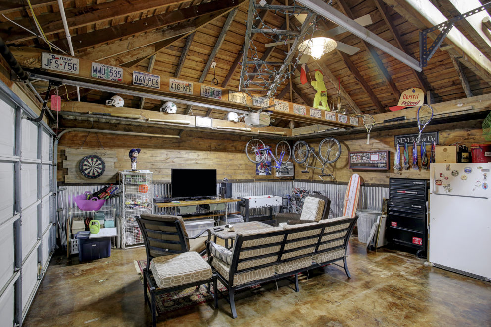 Outdoor Living and Remodeled Garage in West Memorial ...