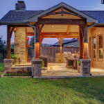Sugar Land outdoor living area