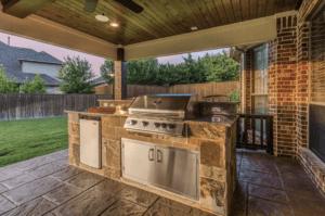 Small outdoor kitchen Dallas area