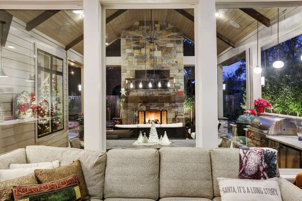 Expanded outdoor living Houston